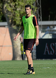 July 19, 2018 - Rome, Italy - Ivan Marcano during training session open to the fans of A.S. Roma,  pre-season retreat at Stadio Tre Fontane on july 19, 2018 in Rome, Italy. (Credit Image: © Silvia Lore/NurPhoto via ZUMA Press)