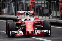 Sebastian Vettel (GER) Ferrari SF16-H.<br /> 28.10.2016. Formula 1 World Championship, Rd 19, Mexican Grand Prix, Mexico City, Mexico, Practice Day.<br /> Copyright: Moy / XPB Images / action press