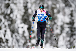 January 11, 2018 - GSbu, NORWAY - 180111 Erling Engesvold Flataker competes in the men's sprint classic technique qualification during the Norwegian Championship on January 11, 2018 in GÅ'sbu..Photo: Jon Olav Nesvold / BILDBYRN / kod JE / 160127 (Credit Image: © Jon Olav Nesvold/Bildbyran via ZUMA Wire)