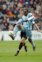 Photo: Kevin Poolman.<br />Coventry City v Sheffield United. Coca Cola Championship. 11/03/2006. <br />Coventry's Stern John.