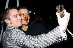"""Orlando Bloom releases a photo on Instagram with the following caption: """"the original selfie #ElijahWood #nationalselfieday"""". Photo Credit: Instagram *** No USA Distribution *** For Editorial Use Only *** Not to be Published in Books or Photo Books ***  Please note: Fees charged by the agency are for the agency's services only, and do not, nor are they intended to, convey to the user any ownership of Copyright or License in the material. The agency does not claim any ownership including but not limited to Copyright or License in the attached material. By publishing this material you expressly agree to indemnify and to hold the agency and its directors, shareholders and employees harmless from any loss, claims, damages, demands, expenses (including legal fees), or any causes of action or allegation against the agency arising out of or connected in any way with publication of the material."""