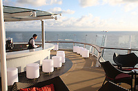 Celebrity Reflection departs on its preview sailing out of The Netherlands before beginning its European inaugural sailing on 12th October 2012 from Amsterdam..The Sunset Bar.