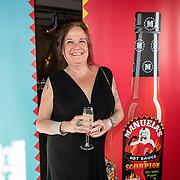 NLD/Amsterdam/20160915 - Presentatie Manuale's Hot Sauces van Manuela Kemp, Xandra Brood