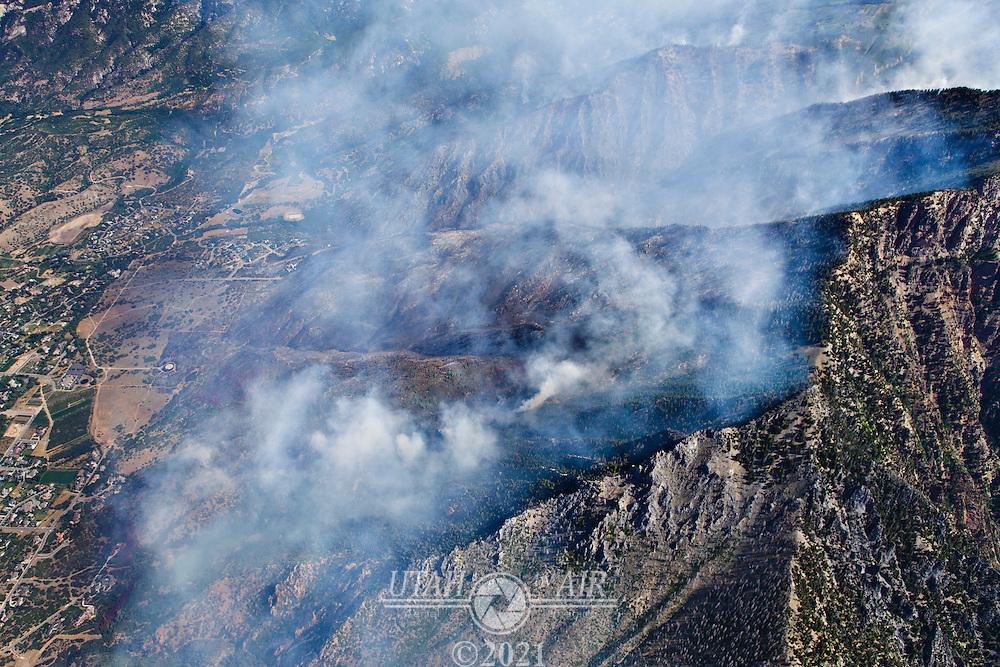 The Quail Fire in Alpine, UT, July 4th, 2012