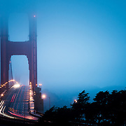 Golden Gate Bridge on a cool morning in San Francisco, CA.  ©Gamefacemedia