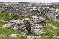 Holy well on Inis Oirr the Aran Islands Galway Ireland