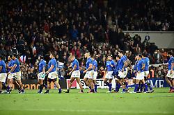 November 12, 2016 - Toulouse, France - Fin de match Samoa (Credit Image: © Panoramic via ZUMA Press)