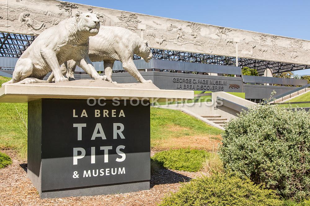 La Brea Tar Pits Museum in Los Angeles