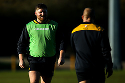 Jack Owlett of Wasps during training ahead of the European Challenge Cup fixture against SU Agen - Mandatory by-line: Robbie Stephenson/JMP - 18/11/2019 - RUGBY - Broadstreet Rugby Football Club - Coventry , Warwickshire - Wasps Training Session