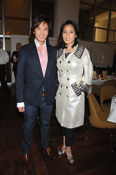 ANDY & PATTI WONG at a dinner hosted by Vogue in honour of Antony Gormley held at the new Skylon restaurant at the refurbished Royal Festival Hall, South Bank, London on 22nd May 2007.<br /><br />NON EXCLUSIVE - WORLD RIGHTS