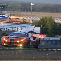 #65, Scuderia Corsa, Ferrari 488 GTE, driven by: Christina Nielsen, Alessandro Balzan, Brett Curtis, 24 Heures Du Mans 85th Edition, 18/06/2017,