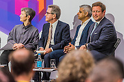 Speakers included Lord Browne, Sadiq Khan and Ed Vasey -  The new Tate Modern will open to the public on Friday 17 June. The new Switch House building is designed by architects Herzog & de Meuron, who also designed the original conversion of the Bankside Power Station in 2000.