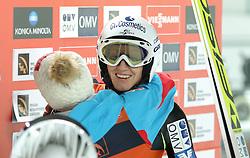 12.12.2015, Nordic Center, Nizhny Tagil, RUS, FIS Weltcup Ski Sprung, Nizhny Tagil, Damen, im Bild Daniela Iraschko-Stolz (AUT) // Daniela Iraschko-Stolz of Austria during Ladies Skijumping Competition of FIS Skijumping World Cup at the Nordic Center in Nizhny Tagil, Russia on 2015/12/12. EXPA Pictures © 2015, PhotoCredit: EXPA