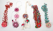 Belo Horizonte_MG, Brasil...Detalhe de colares de uma colecionadora...A collector necklaces...Foto: LEO DRUMOND / NITRO
