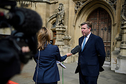 © Licensed to London News Pictures. 12/06/2017. London, UK. Chairman of the 1922 Committee GRAHAM BRADY seen outside Parliament in Westminster ahead of a meeting with the Prime Minister Theresa May later today.  Over the weekend British prime minister Theresa May formed a new cabinet and continues discussions with the DUP in an attempt to form a new government. Photo credit: Ben Cawthra/LNP
