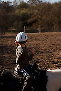 Brenda Morgan operates Pigasus Horse Ranch in Auberry, California.