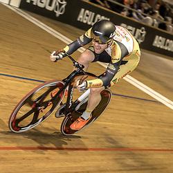 28-12-2017: Wielrennen: NK Baan: Alkmaar<br /> Roy Eefting (Apeldoorn) pakt de titel op de scratch