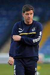 Bristol Rovers Manager, Darrell Clarke - Photo mandatory by-line: Dougie Allward/JMP - Mobile: 07966 386802 01/04/2014 - SPORT - FOOTBALL - Bury - Gigg Lane - Bury v Bristol Rovers - Sky Bet League Two