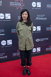 Judges photo-call at Edinburgh International Film Festival<br /> <br /> Pictured: Yung Kha, Publicity, Dogwoof (International Jury)