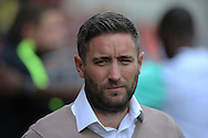 Bristol Manager Lee Jonhson during the EFL Sky Bet Championship match between Bristol City and Derby County at Ashton Gate, Bristol, England on 17 September 2016. Photo by Gary Learmonth.
