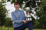 Robert Walsh JNR (Kinsale) winner of the Connacht Boys Amateur Championship, Oughterard Golf Club, Oughterard, Co. Galway, Ireland. 05/07/2019<br /> Picture: Golffile   Fran Caffrey<br /> <br /> <br /> All photo usage must carry mandatory copyright credit (© Golffile   Fran Caffrey)
