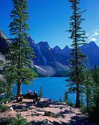 Moraine Lake, Banff, Alberta, Canada<br />