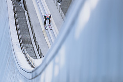 01.01.2021, Olympiaschanze, Garmisch Partenkirchen, GER, FIS Weltcup Skisprung, Vierschanzentournee, Garmisch Partenkirchen, Einzelbewerb, Herren, im Bild Dawid Kubacki (POL) // Dawid Kubacki of Poland during the men's individual competition for the Four Hills Tournament of FIS Ski Jumping World Cup at the Olympiaschanze in Garmisch Partenkirchen, Germany on 2021/01/01. EXPA Pictures © 2020, PhotoCredit: EXPA/ JFK