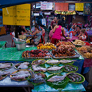 Thai street food in Phi-Phi island, Thailnd