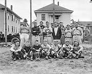 """Baseball squad 1916"" (Washington baseball shirts)"