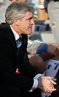 Photo: Paul Thomas.<br /> Liverpool v Blackburn Rovers. The Barclays Premiership. <br /> <br /> Mark Hughes, Blackburn manager.
