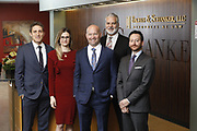 SHOT 1/8/19 12:18:08 PM - Bachus & Schanker LLC lawyers James Olsen, Maaren Johnson, J. Kyle Bachus, Darin Schanker and Andrew Quisenberry in their downtown Denver, Co. offices. The law firm specializes in car accidents, personal injury cases, consumer rights, class action suits and much more. (Photo by Marc Piscotty / © 2018)