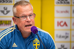 September 5, 2018 - Wien, Austria - 180905 Head coach Janne Andersson of the Swedish national football team during a press conference on 5 September 2018 in Wien..Photo: Petter Arvidson / BILDBYRÃ…N / kod PA / 92089 (Credit Image: © Petter Arvidson/Bildbyran via ZUMA Press)