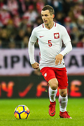 November 13, 2017 - Gdansk, Poland - Krzysztof Maczynski (POL) during the International Friendly match between Poland and Mexico at Energa Stadium in Gdansk, Poland on November 13, 2017. (Credit Image: © Foto Olimpik/NurPhoto via ZUMA Press)