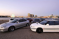 Subaru Liberty/Legacy Group Shoot.Shot on location at Docklands area, Melbourne, Victoria.24th March 2006.First generation (1989-1994) - BC, BJ, BF - Second generation (1994-1999) - BD, BG, BK - Third generation (1998-2003) - BE, BH - Fourth generation (2003-2009) - BL, BP - Fifth generation (2009-) - BM, BR.(C) Joel Strickland Photographics.Use information: This image is intended for Editorial use only (e.g. news or commentary, print or electronic). Any commercial or promotional use requires additional clearance.