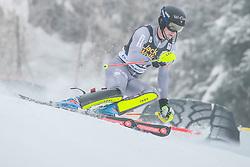 Clement Noel (FRA) during 1st run of Men's Slalom race of FIS Alpine Ski World Cup 57th Vitranc Cup 2018, on March 4, 2018 in Kranjska Gora, Slovenia. Photo by Ziga Zupan / Sportida