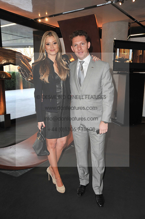 NICK CANDY and HOLLY VALANCE at the launch of One Hyde Park, The Residences at Mandarin Oriental, Knightsbridge, London on 19th January 2011.