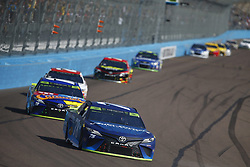 November 12, 2017 - Avondale, Arizona, United States of America - November 12, 2017 - Avondale, Arizona, USA: Martin Truex Jr (78) battles for position during the Can-Am 500(k) at Phoenix Raceway in Avondale, Arizona. (Credit Image: © Justin R. Noe Asp Inc/ASP via ZUMA Wire)