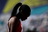 Lokonyen Rose Nathike, (Athlete Refugee Team), 800 Metres Women - Round 1, Heat 2, during the 2019 IAAF World Athletics Championships at Khalifa International Stadium, Doha, Qatar on 27 September 2019.
