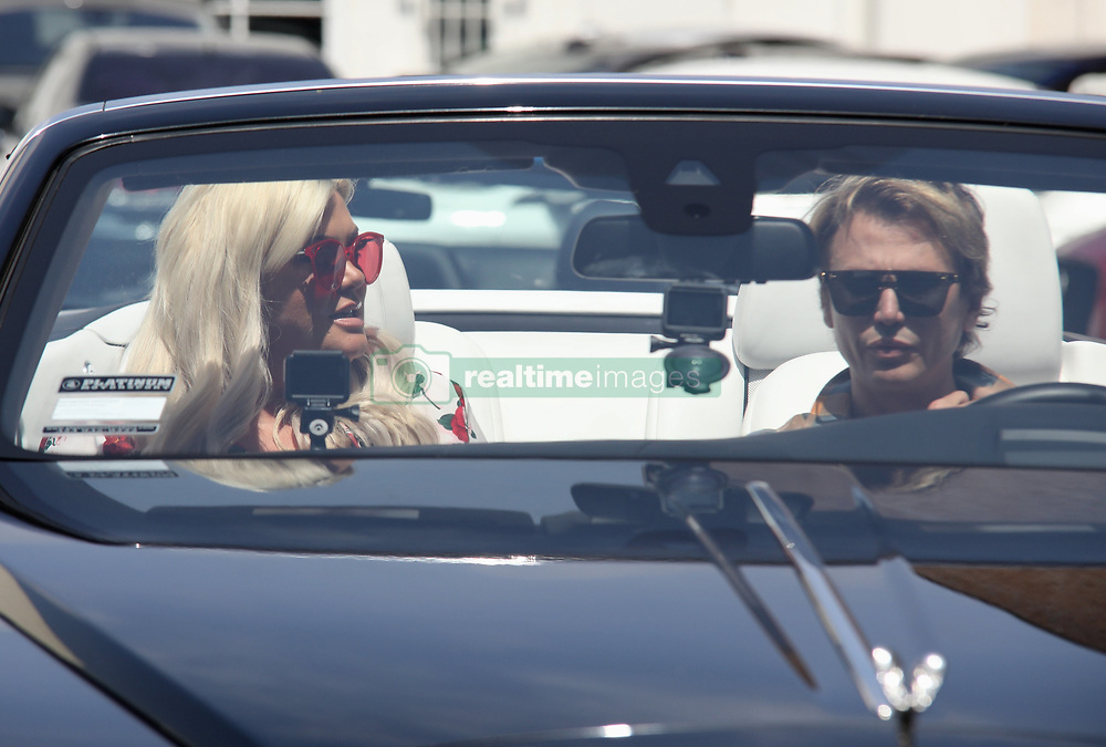 Gemma Collins gets tour of Beverly Hills with Kim Kardashian's BFF Johnathan Cheban and hit up plastic surgeon. 14 May 2019 Pictured: Gemma Collins. Photo credit: APEX / MEGA TheMegaAgency.com +1 888 505 6342