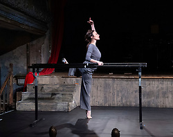 Viviana Durante Company<br /> THREE/8:38/SEVEN<br /> At Wilton's Music Hall, London, Great Britain <br /> Press photocall <br /> 8th May 2019<br /> <br /> 8:38<br /> choreography by Javier de Frutos<br /> <br /> Viviana Durante <br /> Mbulelo Ndabeni<br /> <br />  <br /> THREE/8:38/SEVEN runs 8-18 May 2019 <br /> The evening will consist of three parts. The Threepenny Opera (THREE) will open, followed by 8:38 and closed by Seven Deadly Sins (SEVEN).<br /> This will be an evening of creativity inspired by the fragility, sex and abandon of the doomed Weimer Republic.<br />  <br /> Photograph by Elliott Franks