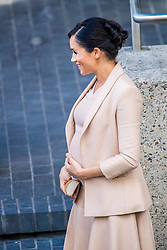 The Duchess of Sussex leaves the National Theatre on Wednesday 30th January after a brief visit. Earlier this month The Duchess was announced as Patron of the National Theatre, one of two Patronages passed on by Her Majesty The Queen. 30 Jan 2019 Pictured: Meghan, Duchess of Sussex. Photo credit: MEGA TheMegaAgency.com +1 888 505 6342