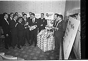 "06/03/1964<br /> 03/06/1964<br /> 06 March 1964<br /> W and C McDonnell Ltd., Drogheda, Conference at Powers Hotel, Dublin. The event was to advertise ""Surprise Peas""."