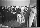 """1964 - Press Conference for W and C McDonnell """"Surprise Peas"""" at Powers Hotel"""