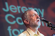 Jeremy Corbyn (pictured) holds a campaign meeting as part of his Labour Party leadership challenge - with support of Ken Livingstone at the Camden Town Hall, London, UK 03 Aug 2015