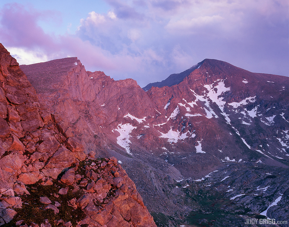 Mount Bierstadt is a mountain in the Front Range region of the Rocky Mountains, in Clear Creek County, Colorado.