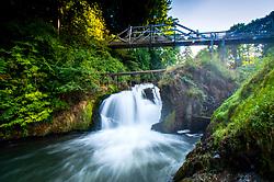 Tumwater Falls, Tumwater, Washington, US