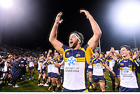 18 June 2013; Leon Power, Brumbies, celebrates his side's victory. British & Irish Lions Tour 2013, Brumbies v British & Irish Lions. Canberra Stadium, Bruce, Canberra, Australia. Picture credit: Stephen McCarthy / SPORTSFILE