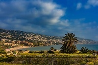 coastline  of Byblos Jbeil in Lebanon Middle east