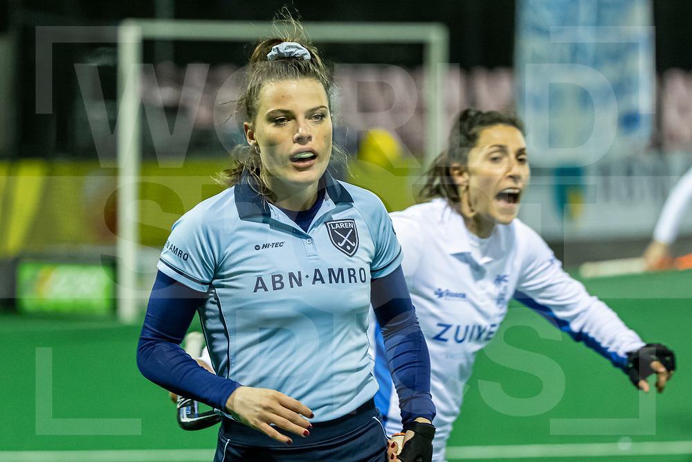 Laren, Hoofdklasse Hockey Dames, Seizoen 2020-2021, 15-04-2021, Laren - Kampong 2-1, Pam van Asperen (Laren)<br /><br /> COPYRIGHT WORLDSPORTPICS WILLEM VERNES