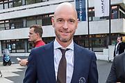 Gala Voetballer van het Jaar 2018 bij Studio 21 in Hilversum.<br /> <br /> Op de foto:  Erik ten Hag